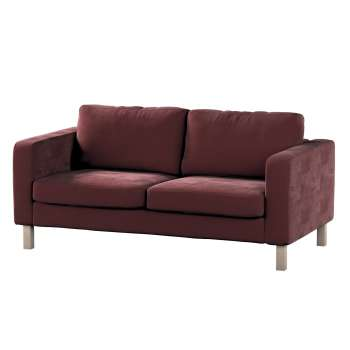 Karlstad 2-seater sofa cover in collection Velvet, fabric: 704-26