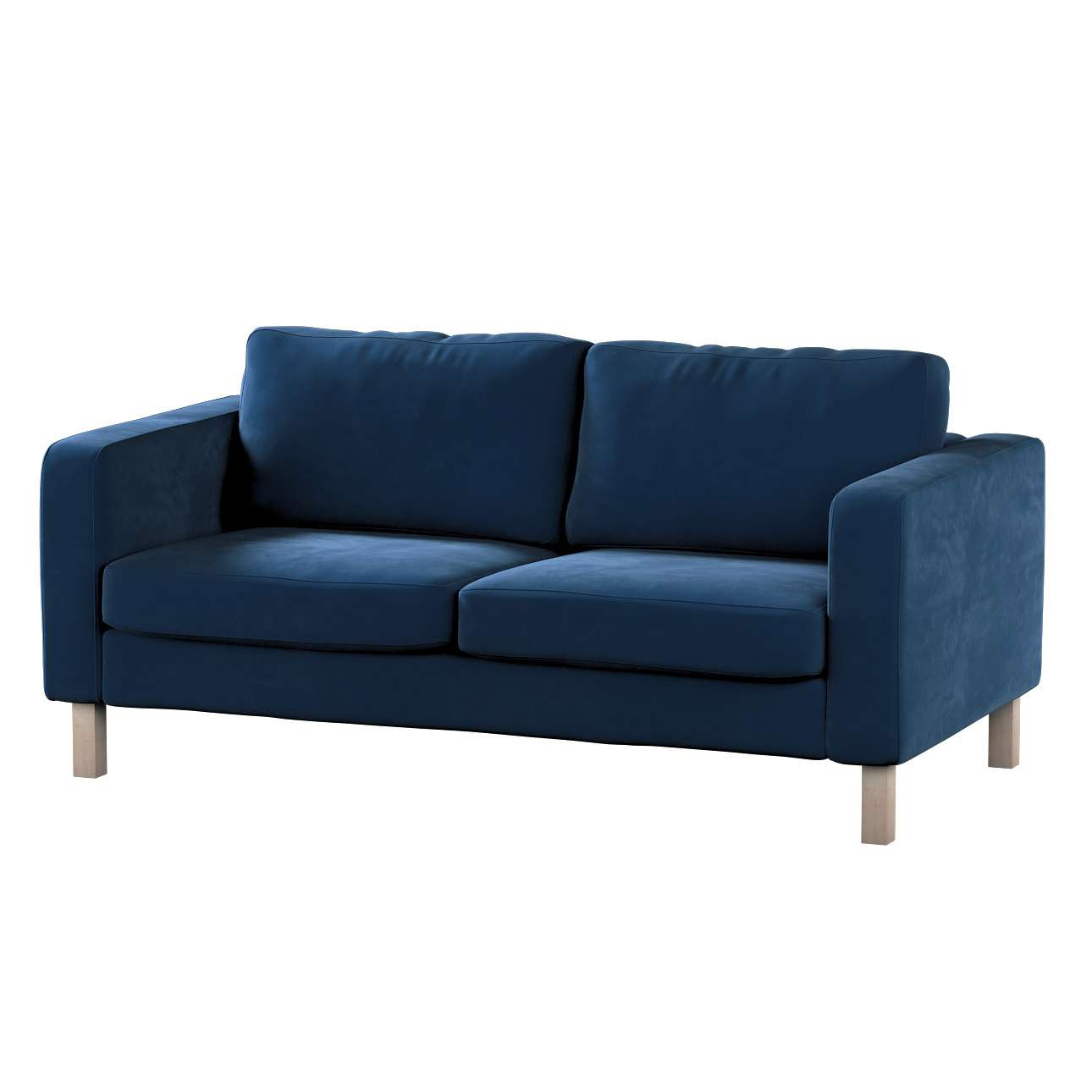 Karlstad 2-seater sofa cover in collection Velvet, fabric: 704-29