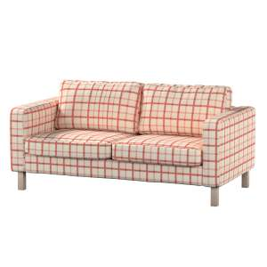 Pokrowiec na sofę Karlstad 2-osobową nierozkładaną krótki Sofa Karlstad 2-osobowa w kolekcji Avinon, tkanina: 131-15