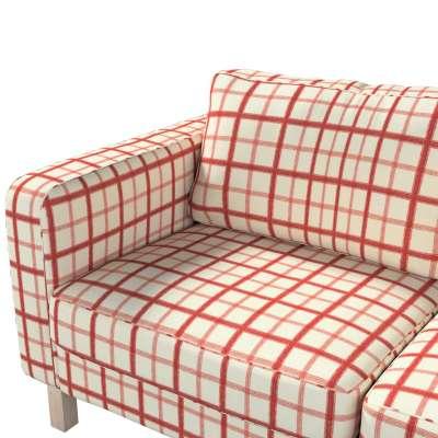Pokrowiec na sofę Karlstad 2-osobową nierozkładaną krótki w kolekcji Avinon, tkanina: 131-15