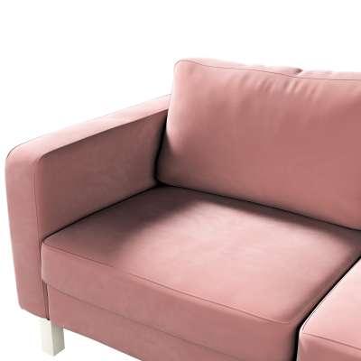Pokrowiec na sofę Karlstad 2-osobową nierozkładaną krótki w kolekcji Velvet, tkanina: 704-30