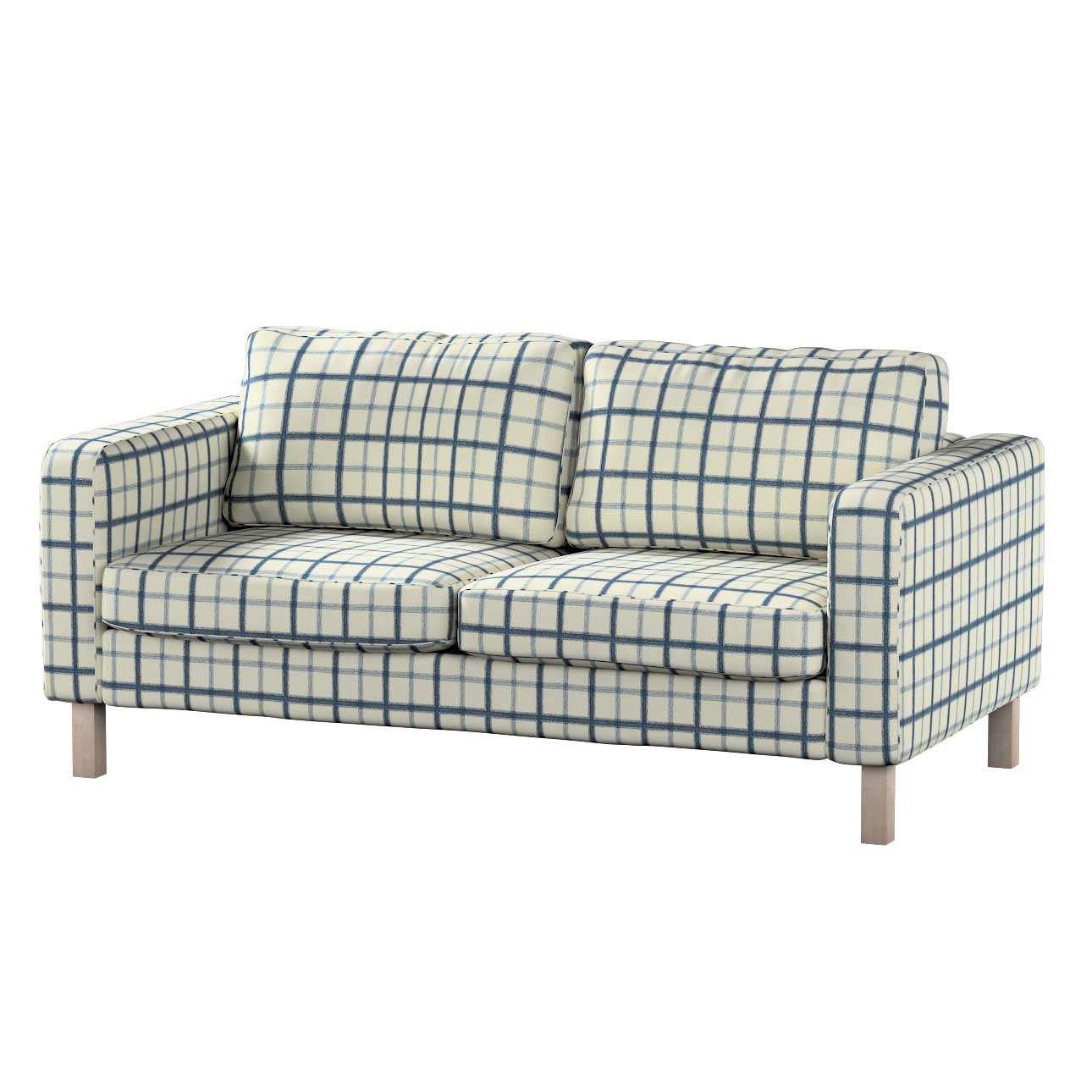 Karlstad 2-Sitzer Sofabezug nicht ausklappbar Sofahusse, Karlstad 2-Sitzer von der Kollektion Avinon, Stoff: 131-66
