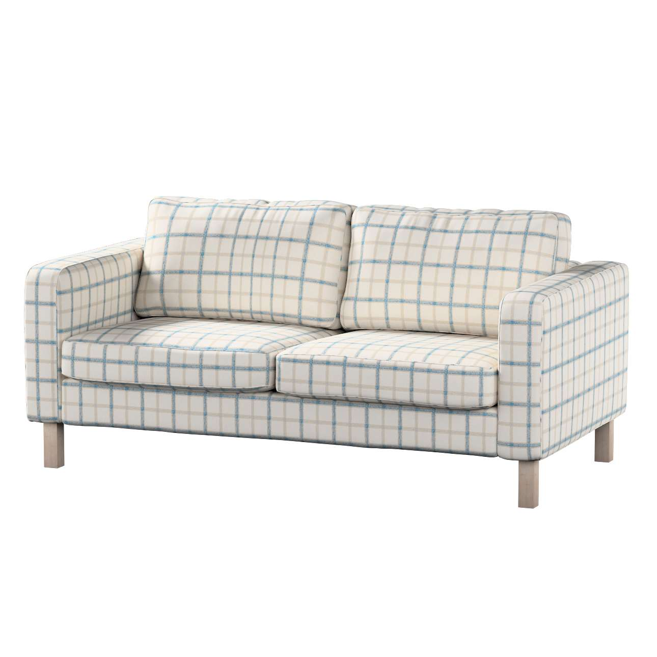 Karlstad 2-seater sofa cover in collection Avinon, fabric: 131-66