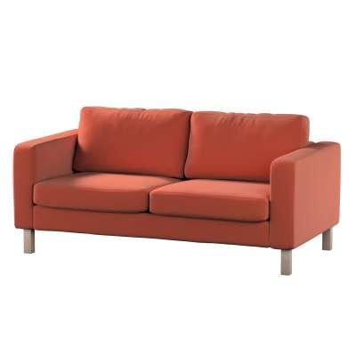 Pokrowiec na sofę Karlstad 2-osobową nierozkładaną krótki w kolekcji Ingrid, tkanina: 705-37