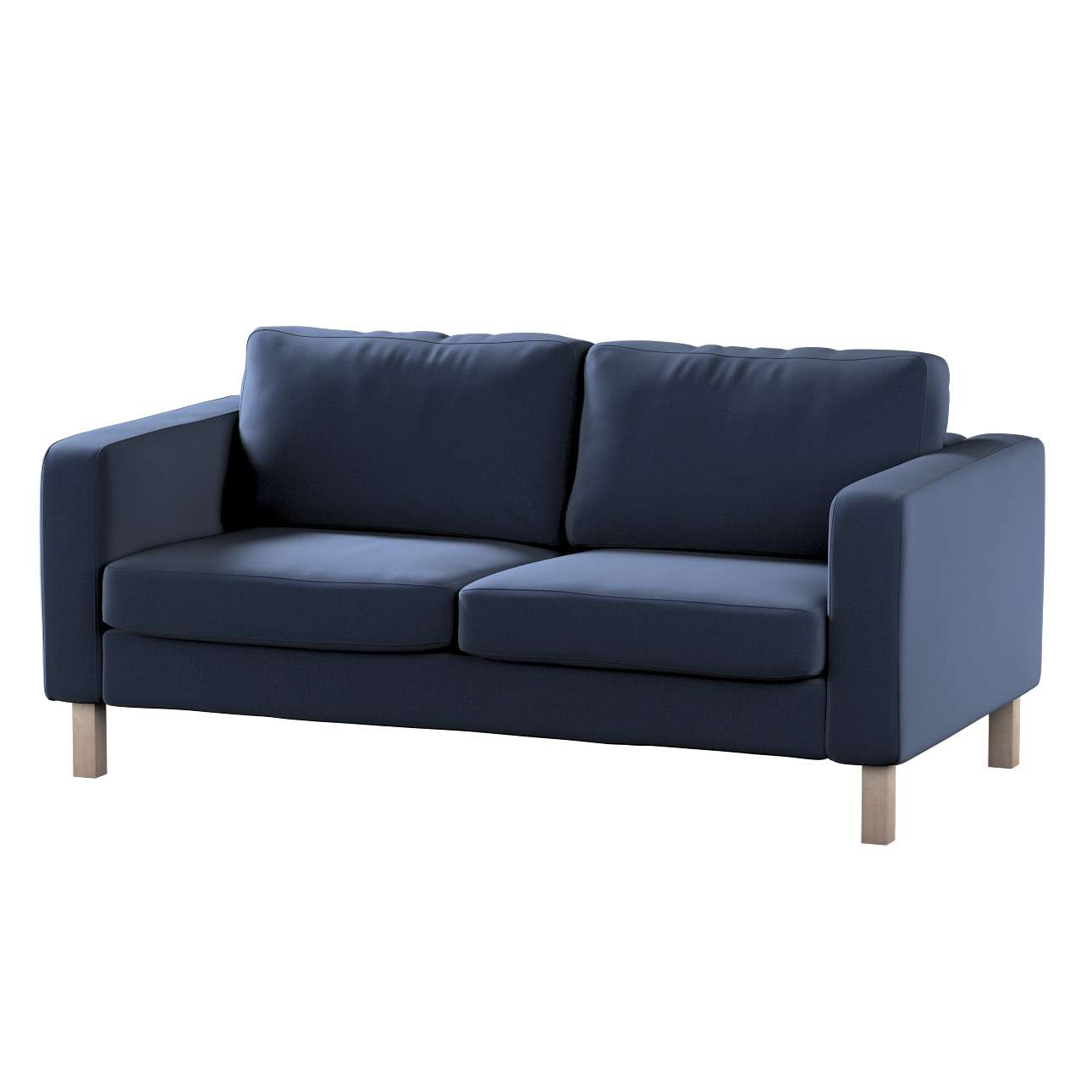 Pokrowiec na sofę Karlstad 2-osobową nierozkładaną krótki w kolekcji Ingrid, tkanina: 705-39