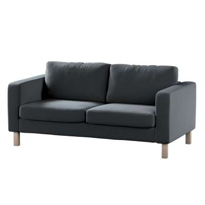 Pokrowiec na sofę Karlstad 2-osobową nierozkładaną krótki w kolekcji Ingrid, tkanina: 705-43