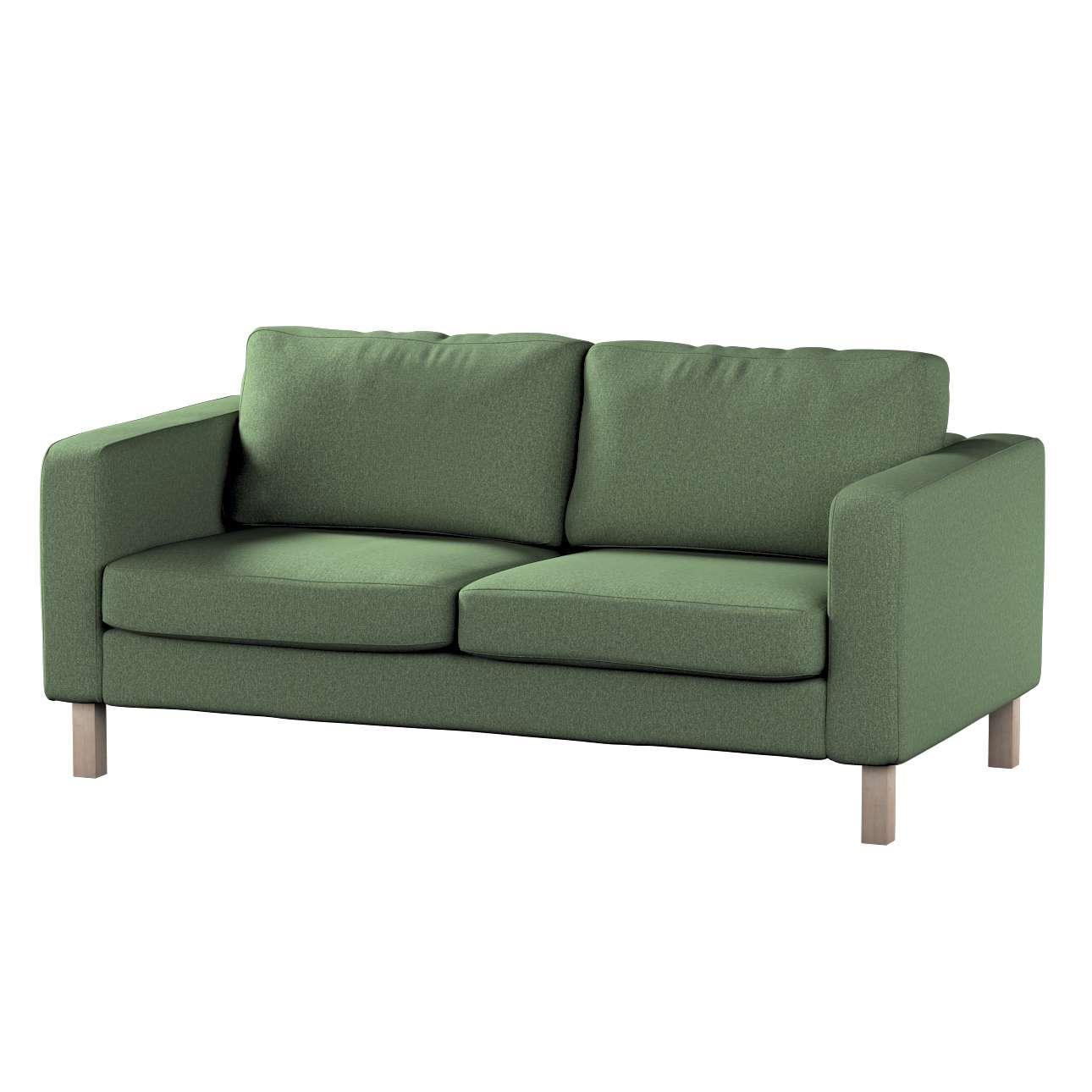 Pokrowiec na sofę Karlstad 2-osobową nierozkładaną krótki w kolekcji Amsterdam, tkanina: 704-44