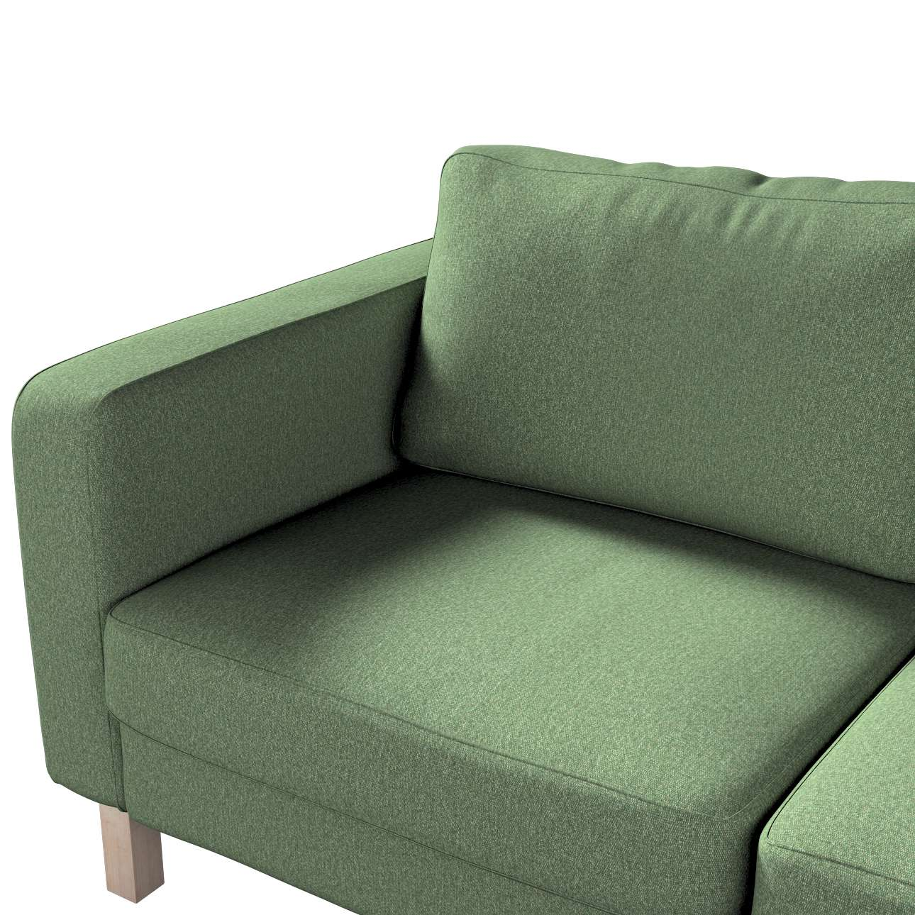 Potah na pohovku IKEA  Karlstad 2-místná, nerozkládací, krátký v kolekci Amsterdam, látka: 704-44