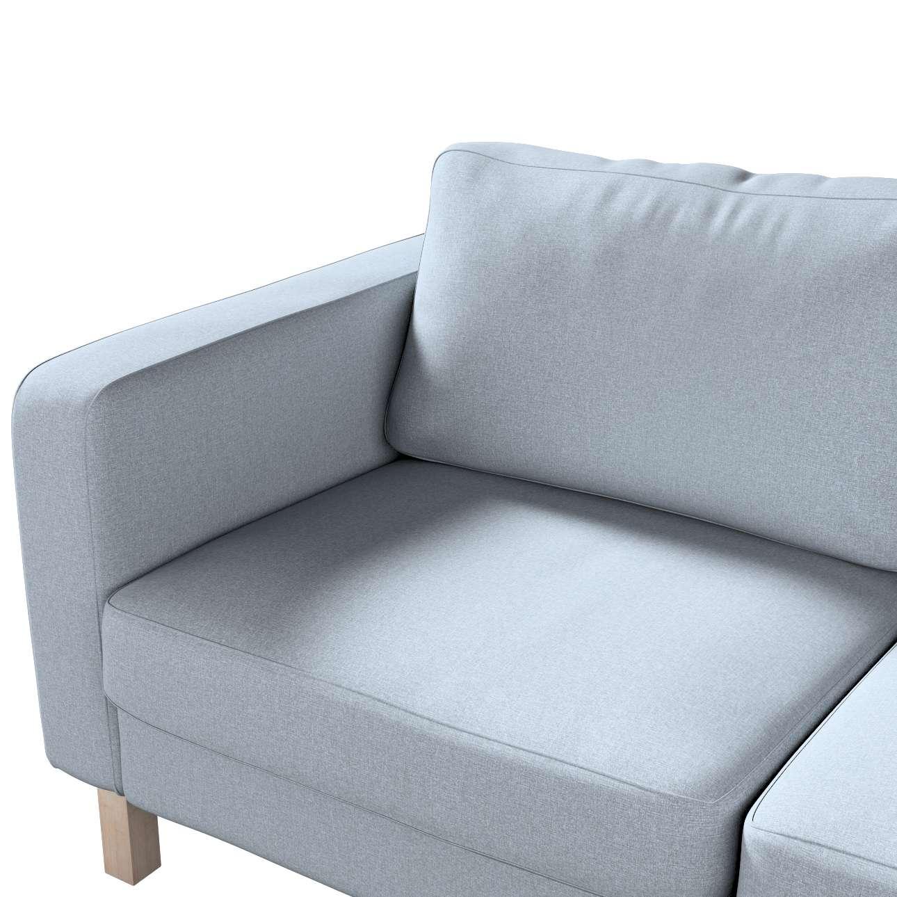 Potah na pohovku IKEA  Karlstad 2-místná, nerozkládací, krátký v kolekci Amsterdam, látka: 704-46