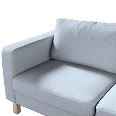 Pokrowiec na sofę Karlstad 2-osobową nierozkładaną krótki w kolekcji Amsterdam, tkanina: 704-46