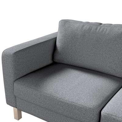 Pokrowiec na sofę Karlstad 2-osobową nierozkładaną krótki w kolekcji Amsterdam, tkanina: 704-47