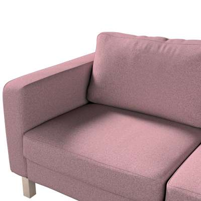 Pokrowiec na sofę Karlstad 2-osobową nierozkładaną krótki w kolekcji Amsterdam, tkanina: 704-48