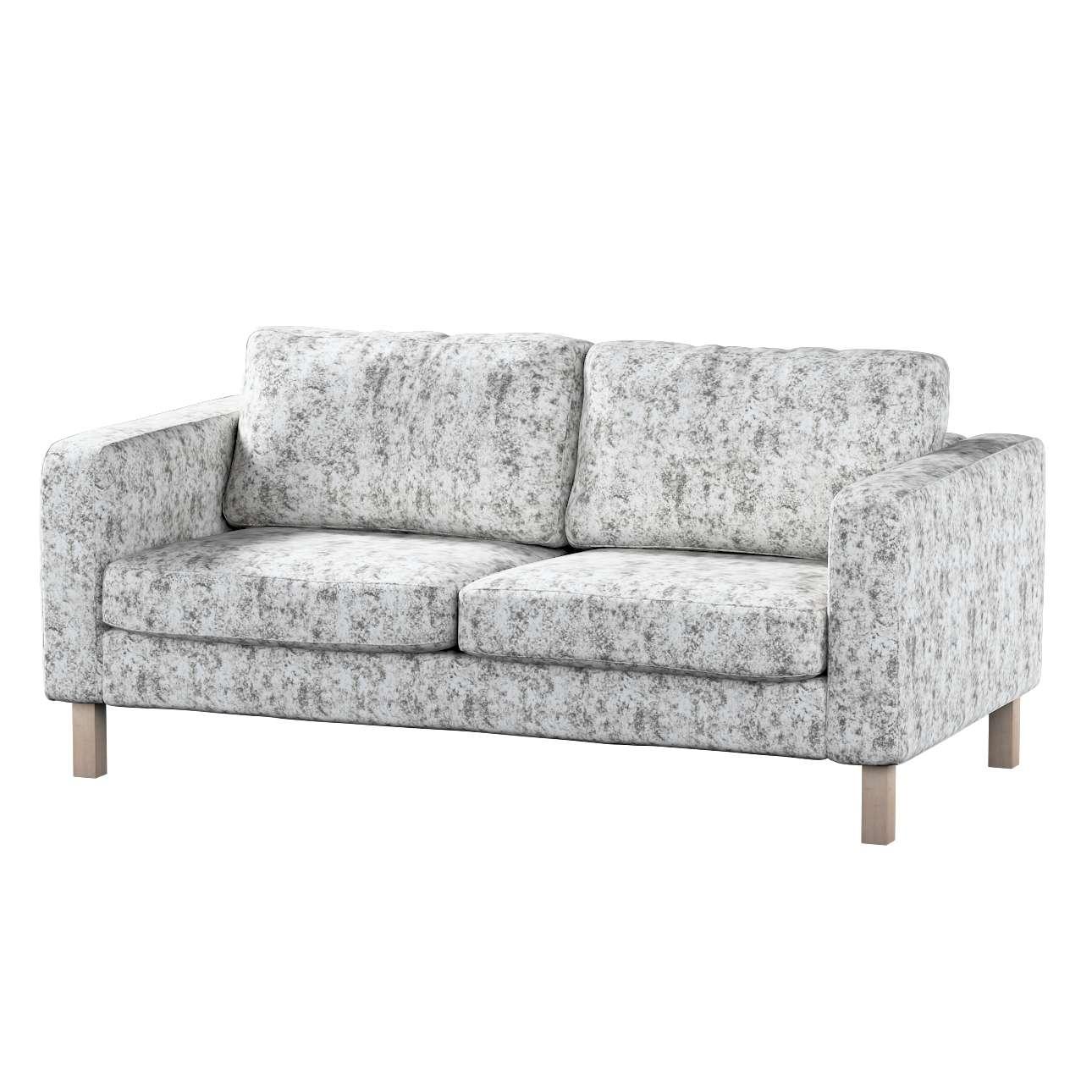 Pokrowiec na sofę Karlstad 2-osobową nierozkładaną krótki w kolekcji Velvet, tkanina: 704-49