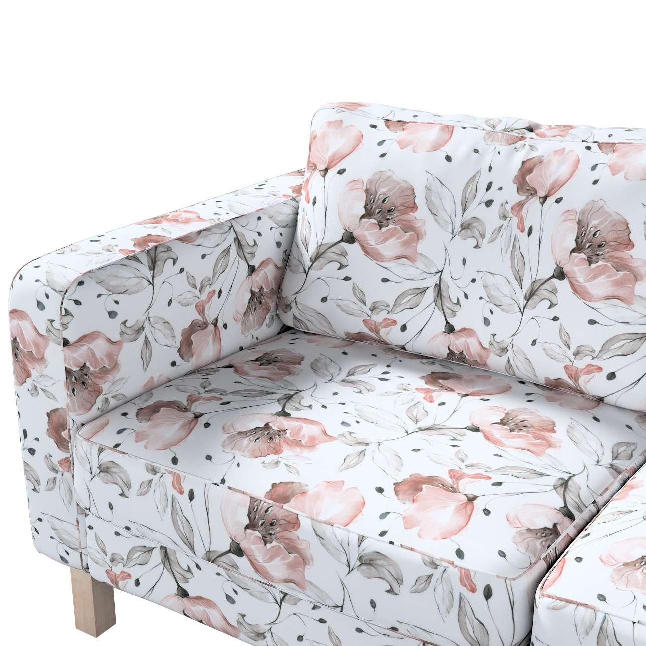 Pokrowiec na sofę Karlstad 2-osobową nierozkładaną krótki w kolekcji Velvet, tkanina: 704-50