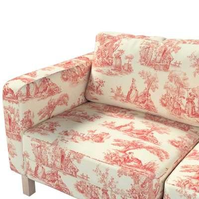 Pokrowiec na sofę Karlstad 2-osobową nierozkładaną krótki w kolekcji Avinon, tkanina: 132-15