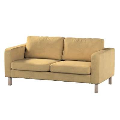 Pokrowiec na sofę Karlstad 2-osobową nierozkładaną krótki w kolekcji Living, tkanina: 160-93