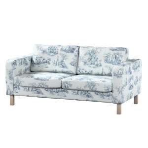 Pokrowiec na sofę Karlstad 2-osobową nierozkładaną krótki Sofa Karlstad 2-osobowa w kolekcji Avinon, tkanina: 132-66