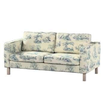 Karlstad 2-Sitzer Sofabezug nicht ausklappbar von der Kollektion Avinon, Stoff: 132-66