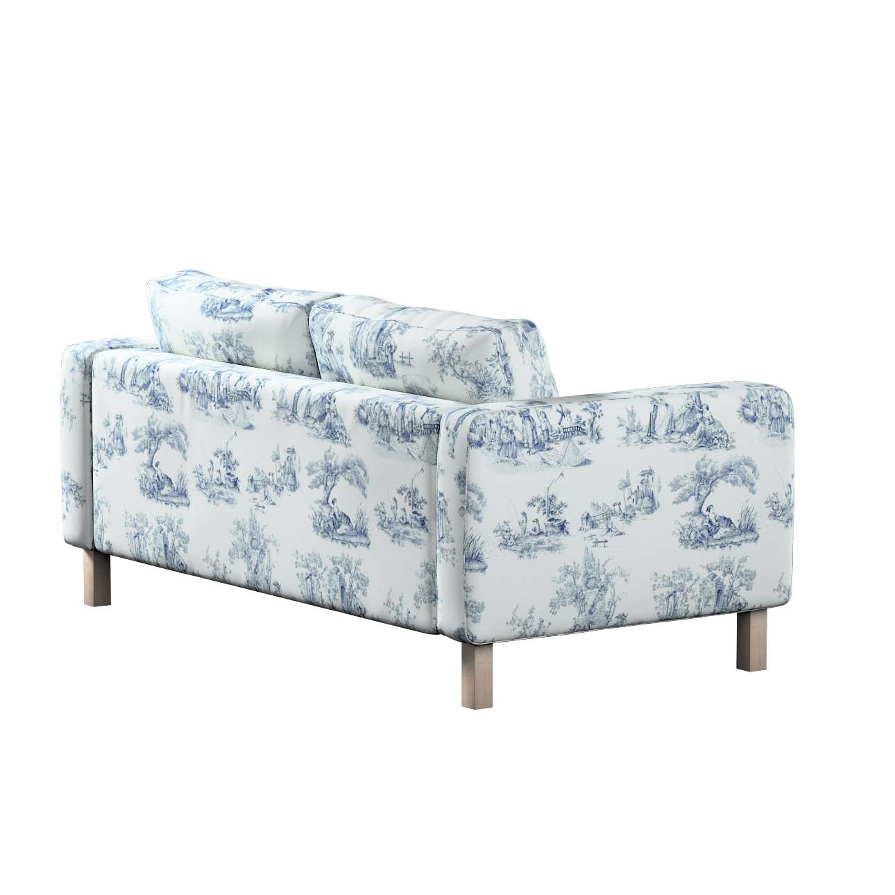 Karlstad 2-seater sofa cover in collection Avinon, fabric: 132-66
