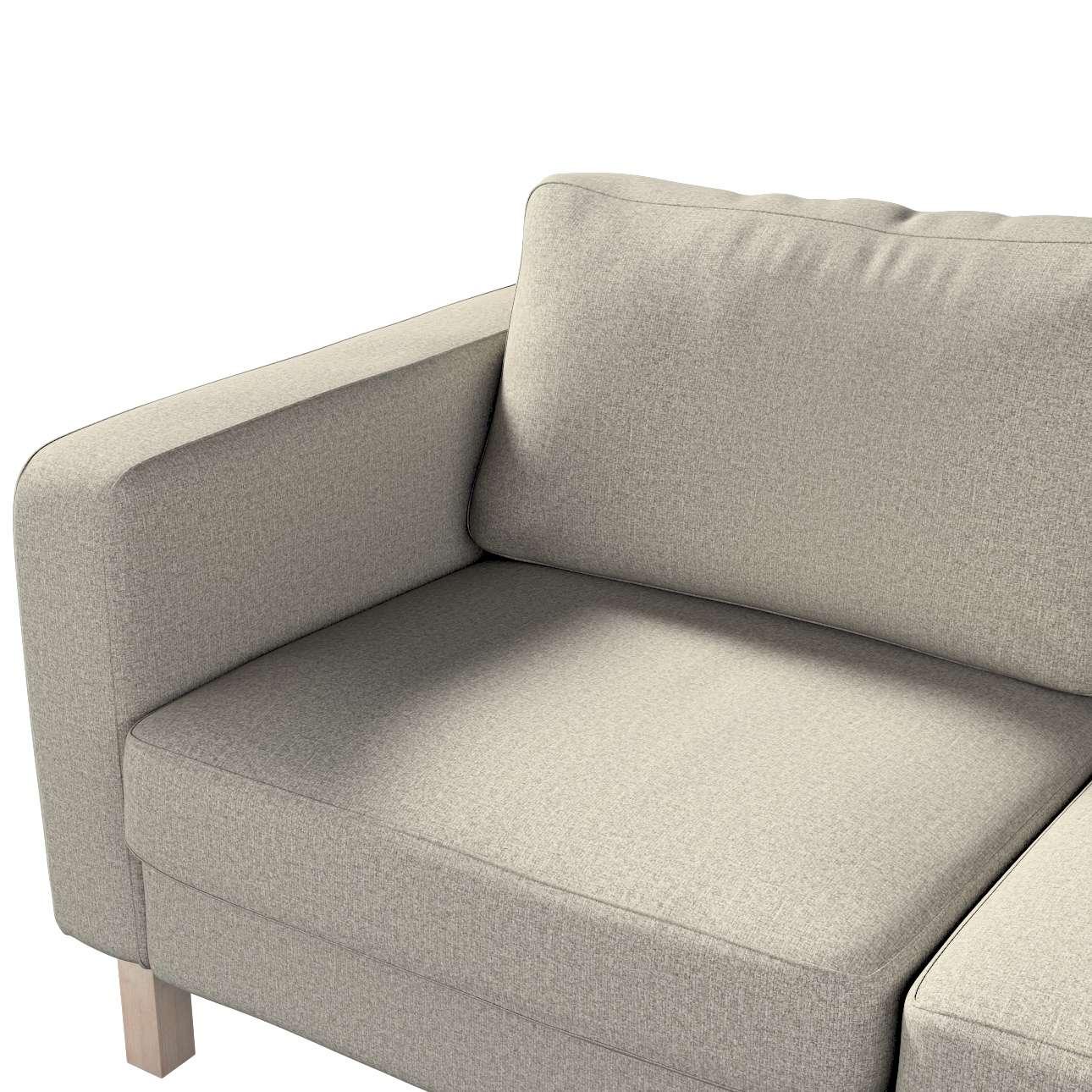 Potah na pohovku IKEA  Karlstad 2-místná, nerozkládací, krátký v kolekci Madrid, látka: 161-23