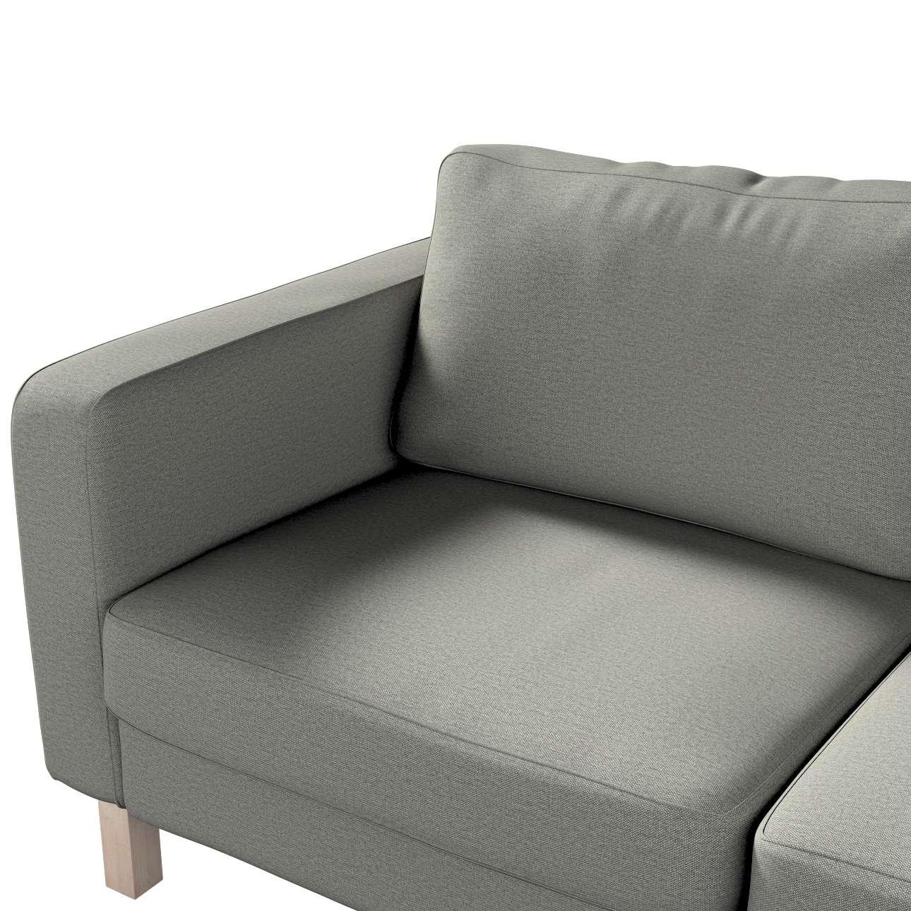 Pokrowiec na sofę Karlstad 2-osobową nierozkładaną krótki w kolekcji Etna, tkanina: 161-25
