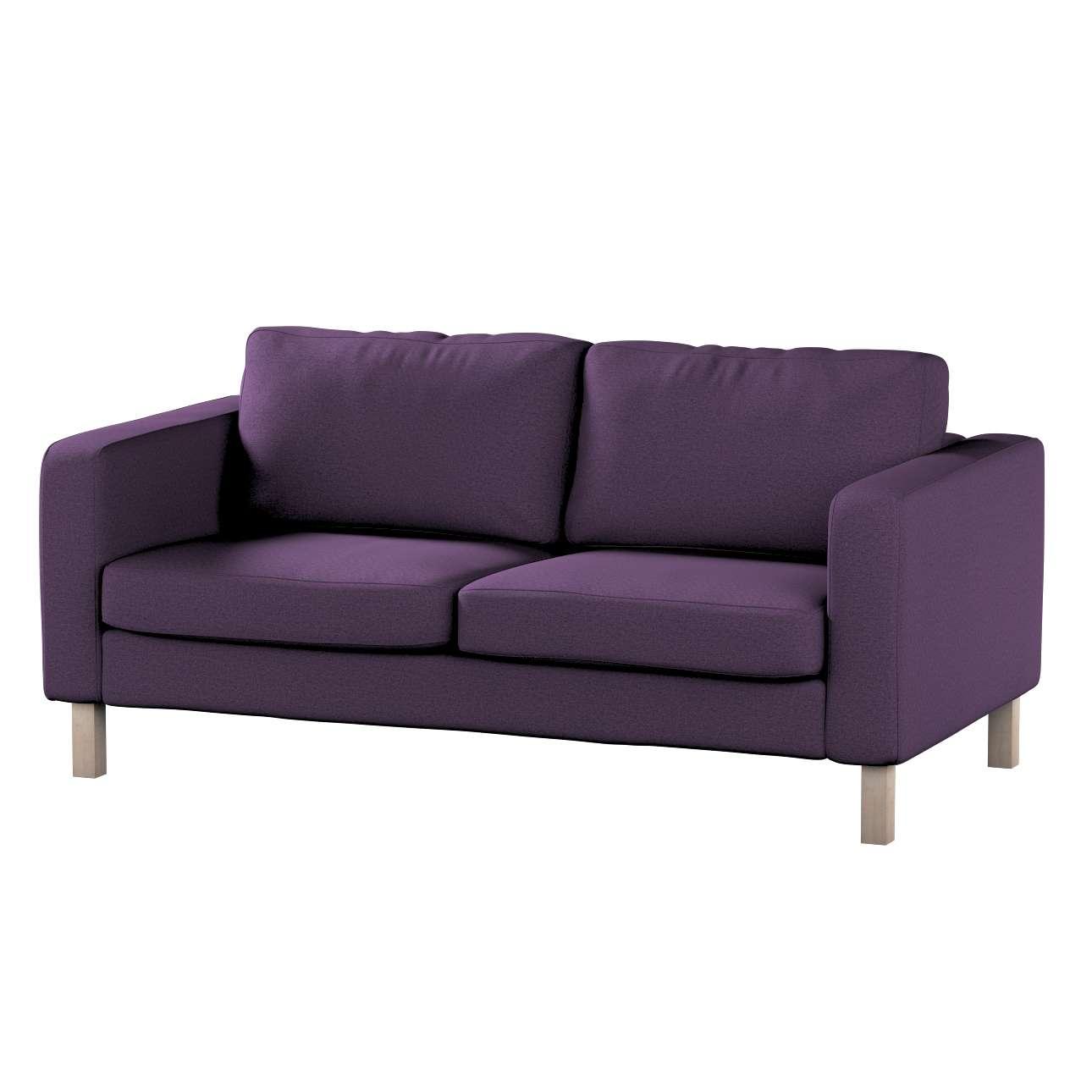 Pokrowiec na sofę Karlstad 2-osobową nierozkładaną krótki w kolekcji Etna, tkanina: 161-27