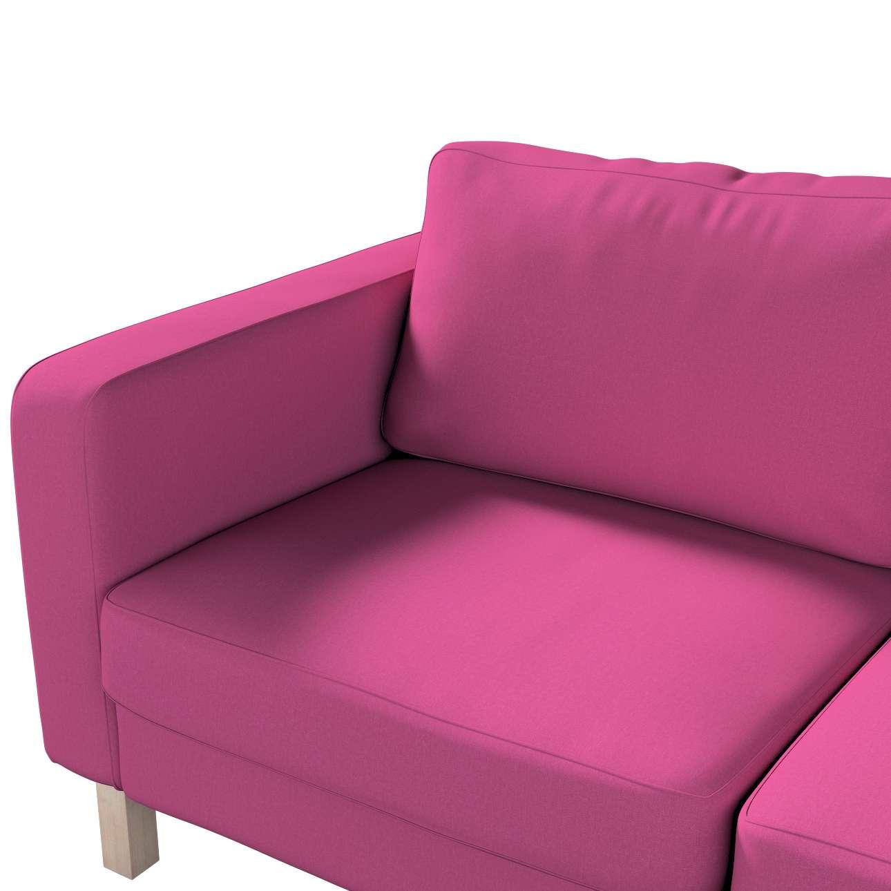 Pokrowiec na sofę Karlstad 2-osobową nierozkładaną krótki w kolekcji Living, tkanina: 161-29