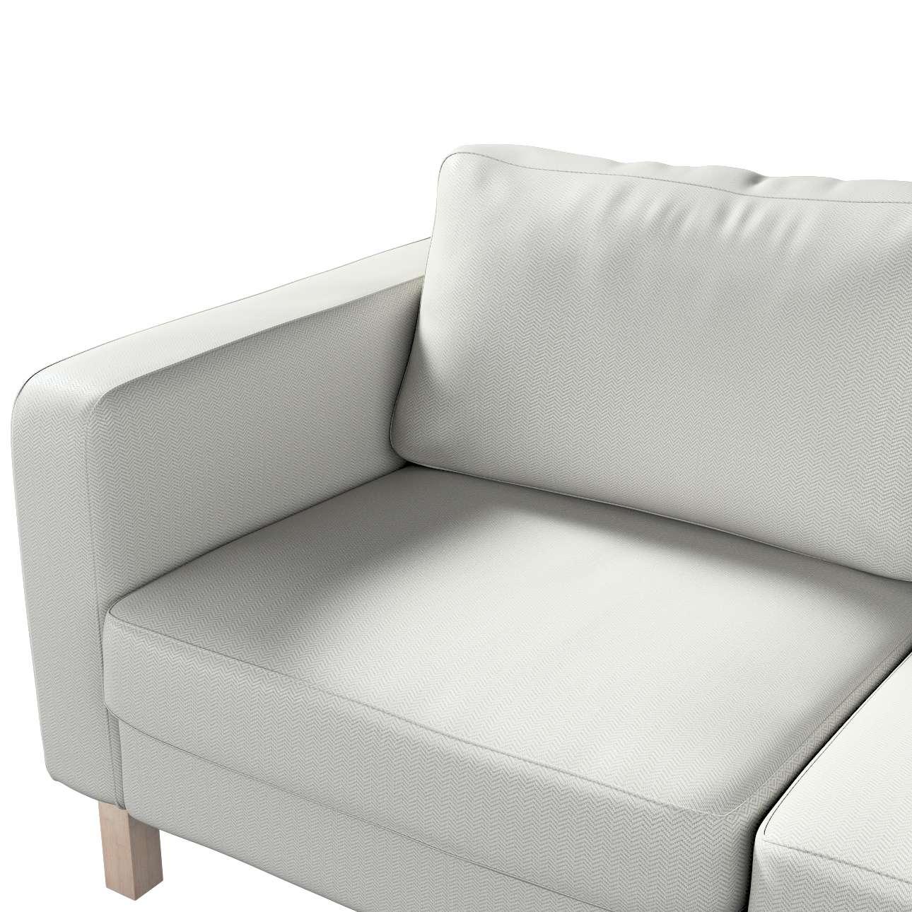 Pokrowiec na sofę Karlstad 2-osobową nierozkładaną krótki w kolekcji Bergen, tkanina: 161-84