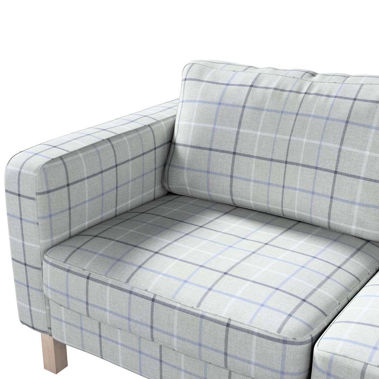 Pokrowiec na sofę Karlstad 2-osobową nierozkładaną krótki w kolekcji Edinburgh, tkanina: 703-18