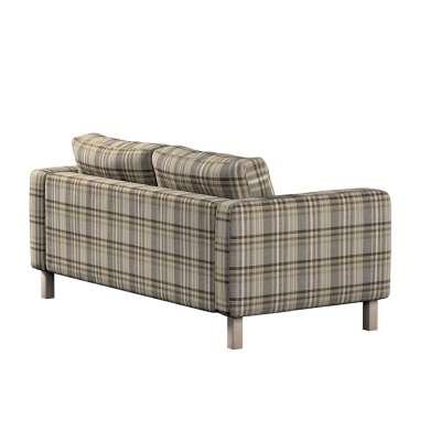 Potah na pohovku IKEA  Karlstad 2-místná, nerozkládací, krátký v kolekci Edinburgh, látka: 703-17