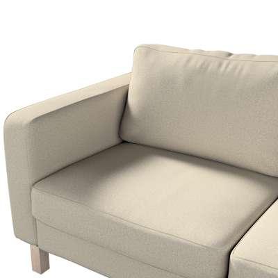 Pokrowiec na sofę Karlstad 2-osobową nierozkładaną krótki w kolekcji Amsterdam, tkanina: 704-52