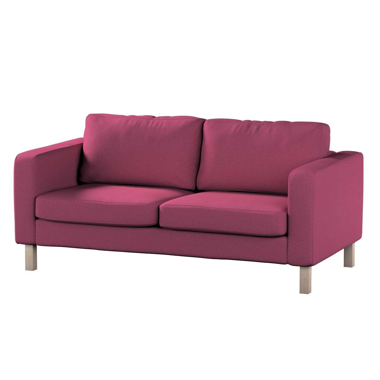 Pokrowiec na sofę Karlstad 2-osobową nierozkładaną krótki w kolekcji Living, tkanina: 160-44