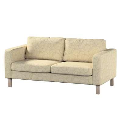 Pokrowiec na sofę Karlstad 2-osobową nierozkładaną krótki w kolekcji Living, tkanina: 161-81