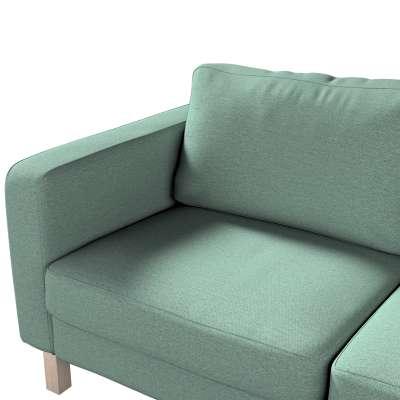 Potah na pohovku IKEA  Karlstad 2-místná, nerozkládací, krátký v kolekci Madrid, látka: 161-89