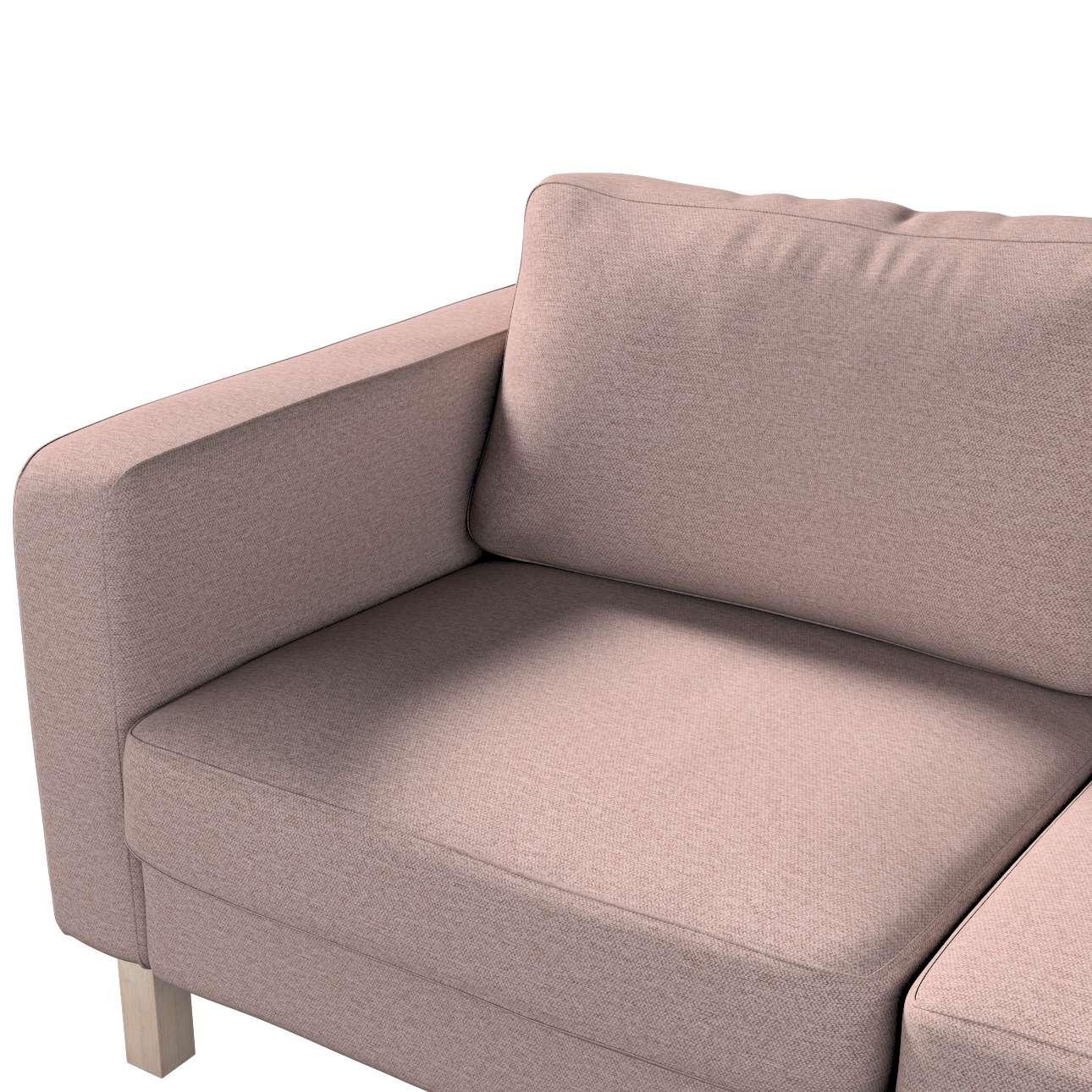 Pokrowiec na sofę Karlstad 2-osobową nierozkładaną krótki w kolekcji Madrid, tkanina: 161-88