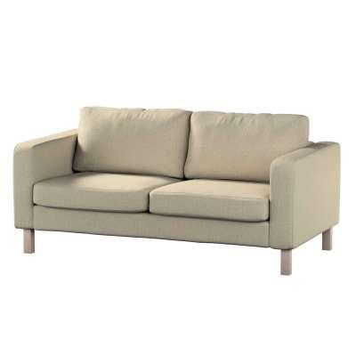 Pokrowiec na sofę Karlstad 2-osobową nierozkładaną krótki w kolekcji City, tkanina: 704-80