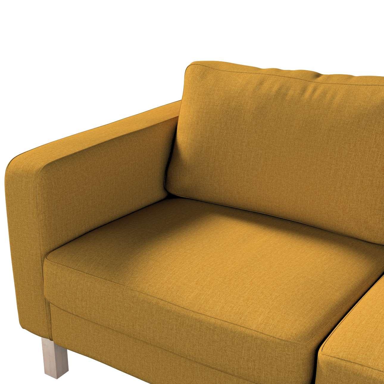 Pokrowiec na sofę Karlstad 2-osobową nierozkładaną krótki w kolekcji City, tkanina: 704-82