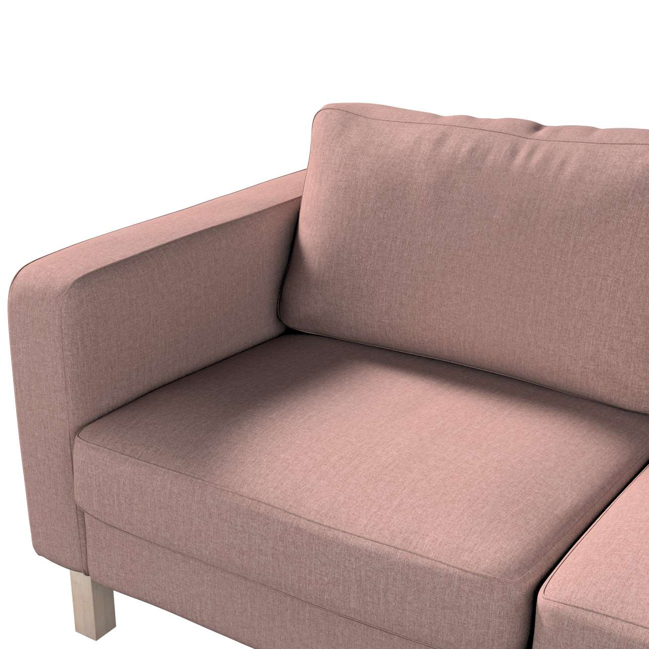 Pokrowiec na sofę Karlstad 2-osobową nierozkładaną krótki w kolekcji City, tkanina: 704-83