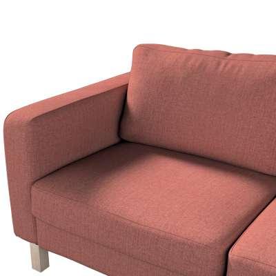 Pokrowiec na sofę Karlstad 2-osobową nierozkładaną krótki w kolekcji City, tkanina: 704-84