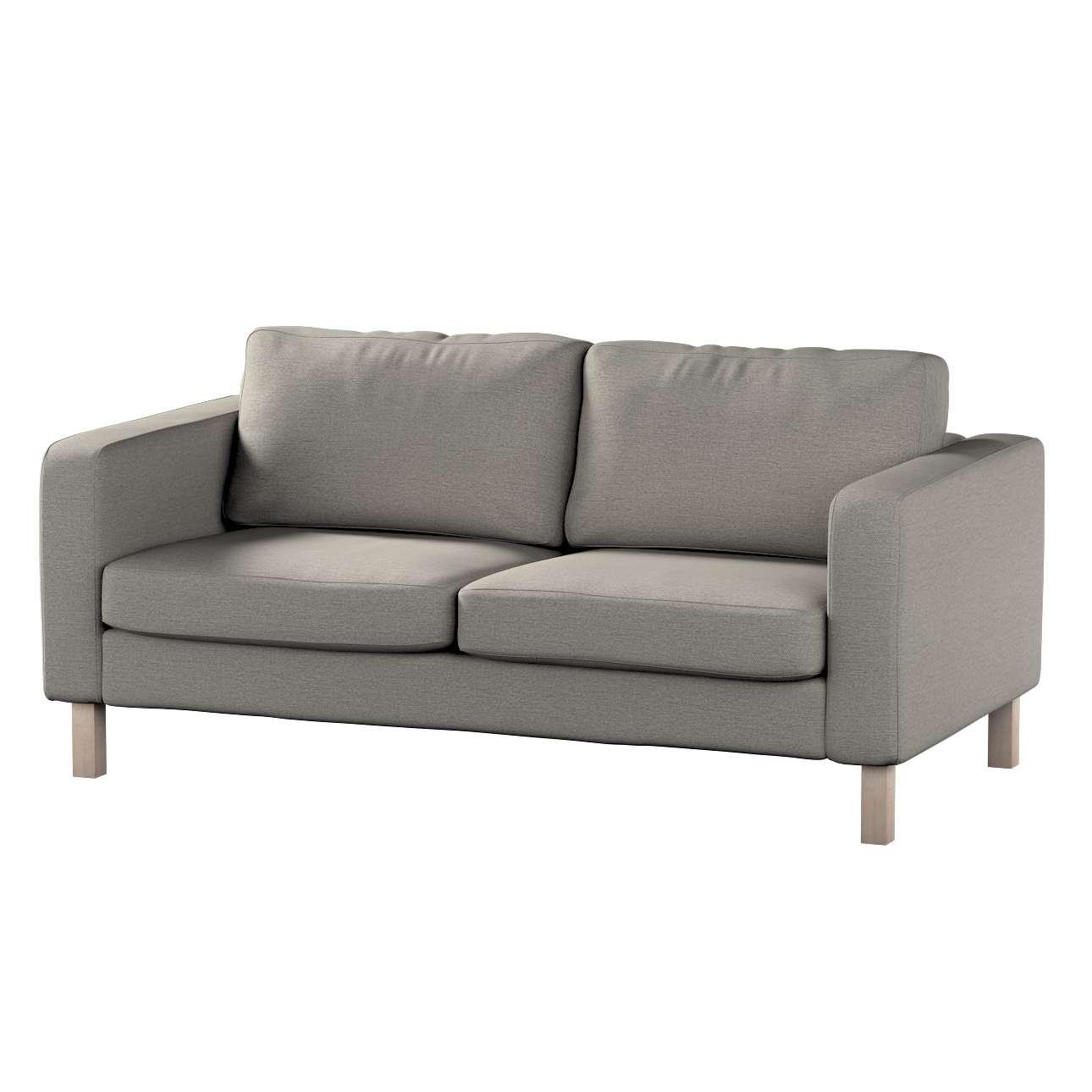 Pokrowiec na sofę Karlstad 2-osobową nierozkładaną krótki w kolekcji Madrid, tkanina: 161-91