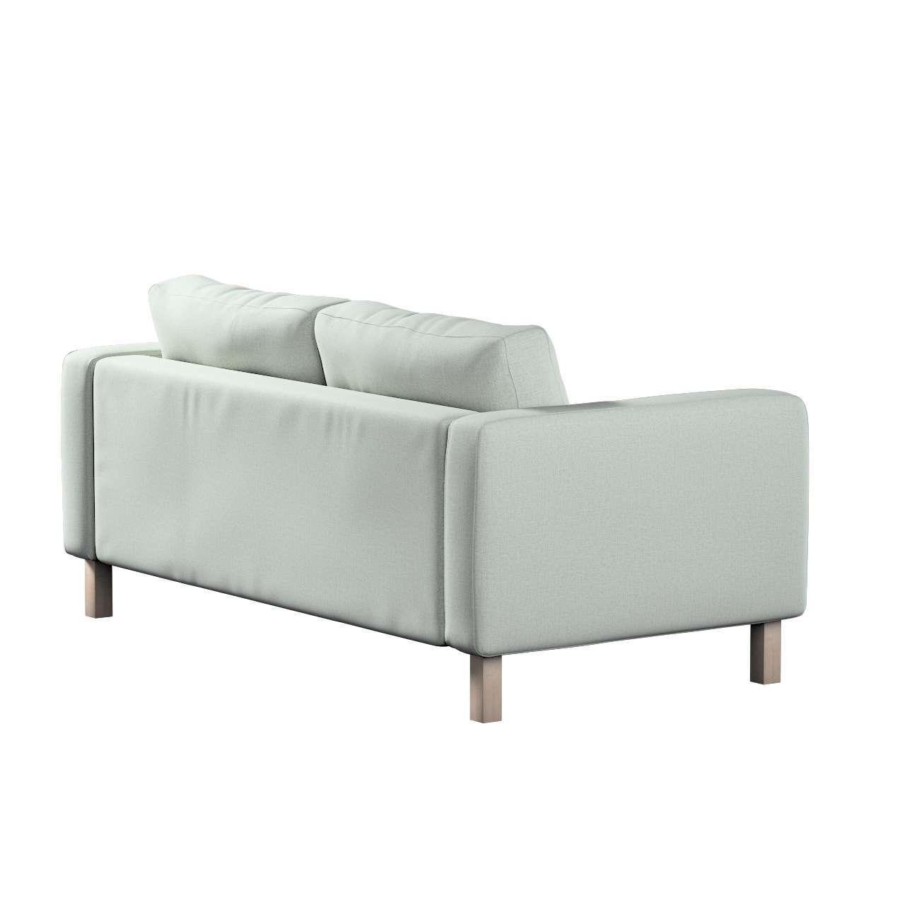 Pokrowiec na sofę Karlstad 2-osobową nierozkładaną krótki w kolekcji Living, tkanina: 161-41