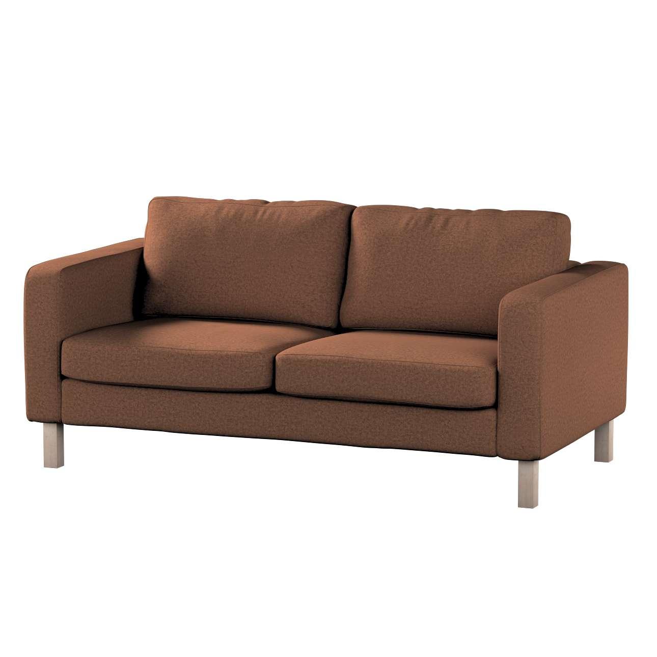 Pokrowiec na sofę Karlstad 2-osobową nierozkładaną krótki w kolekcji Living, tkanina: 161-65