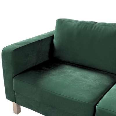 Pokrowiec na sofę Karlstad 2-osobową nierozkładaną krótki w kolekcji Christmas, tkanina: 704-25