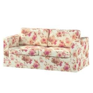 Karlstad 2-Sitzer Sofabezug nicht ausklappbar lang Sofahusse, Karlstad 2-Sitzer von der Kollektion Mirella, Stoff: 141-06