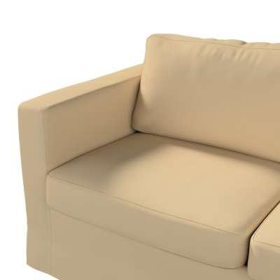 Pokrowiec na sofę Karlstad 2-osobową nierozkładaną długi w kolekcji Cotton Panama, tkanina: 702-01