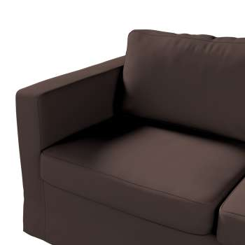 Floor length Karlstad 2-seater sofa cover in collection Panama Cotton, fabric: 702-03