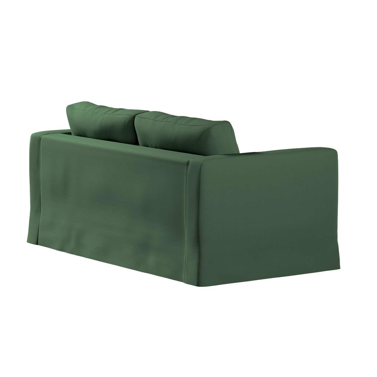 Pokrowiec na sofę Karlstad 2-osobową nierozkładaną długi w kolekcji Cotton Panama, tkanina: 702-06