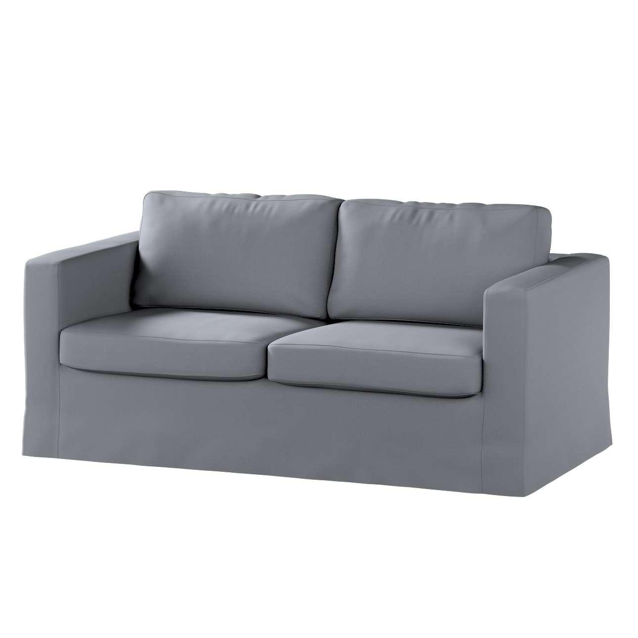 Karlstad dvivietės sofos užvalkalas (ilgas, iki žemės) Karlstad dvivietė sofa kolekcijoje Cotton Panama, audinys: 702-07