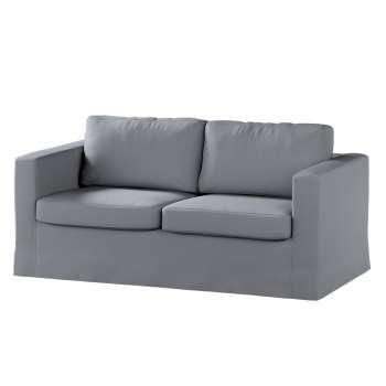 Pokrowiec na sofę Karlstad 2-osobową nierozkładaną długi Sofa Karlstad 2-osobowa w kolekcji Cotton Panama, tkanina: 702-07