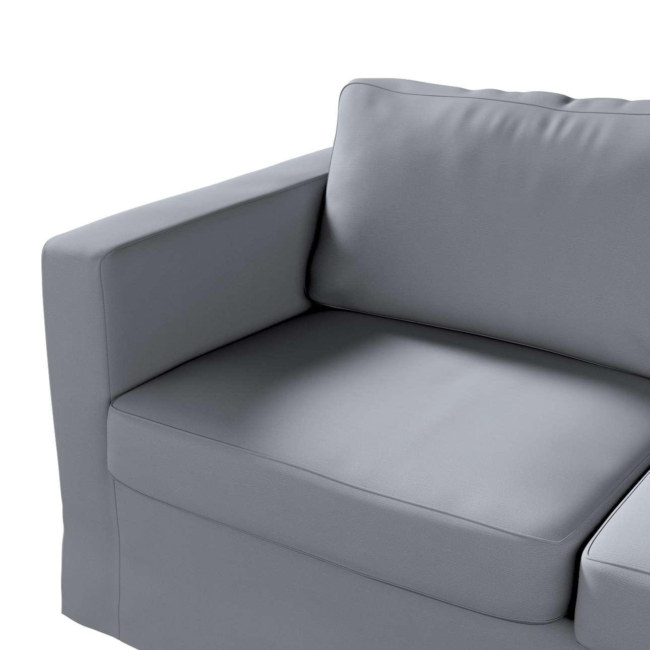 Karlstad 2-üléses,nem kinyitható: hosszú kanapéhuzat a kollekcióból Cotton Panama Bútorszövet, Dekoranyag: 702-07